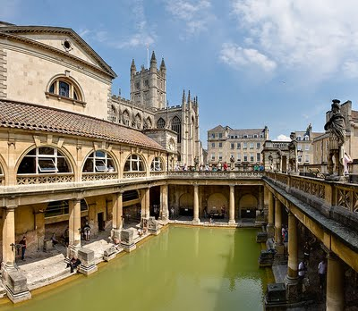 The Great Bath and The Roman Bath