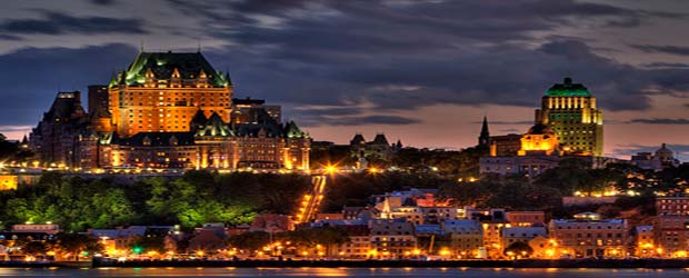 Quebec City Tourism Map on